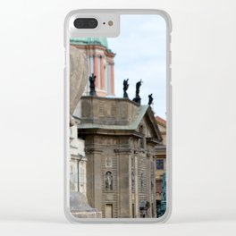 Before the Bridge Clear iPhone Case