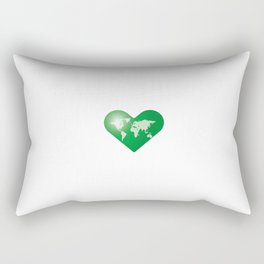 Love the Earth_g Rectangular Pillow