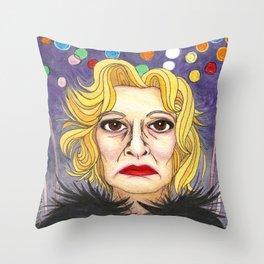 Ms. Lange  Throw Pillow
