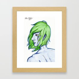 The Enigma Framed Art Print