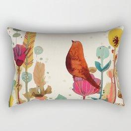 encore un peu de temps Rectangular Pillow