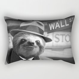The Sloth of Wall Street Rectangular Pillow