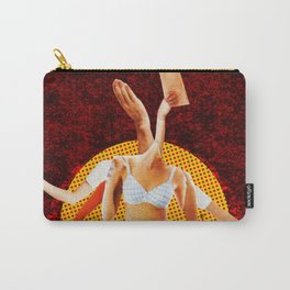 Build a Woman - Cut and Glue · Nina R Vana · Good enough to Carry-All Pouch