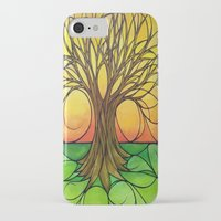 tree of life iPhone & iPod Cases featuring Tree Life  by R.Blume