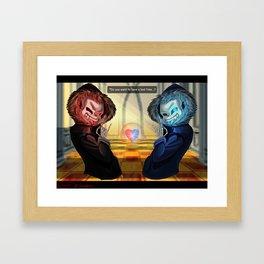 Final Sans Framed Art Print