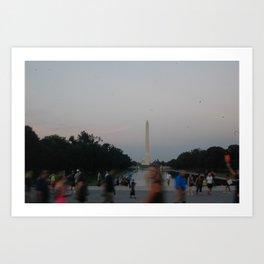 Life's a blur Art Print