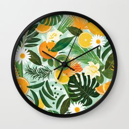 Spring and Deli Wall Clock
