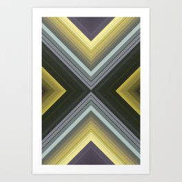 Broken Cycle Art Print