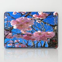 portland iPad Cases featuring Portland Sakura by Casey J. Newman