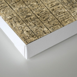 Gold Egyptian Scarab Canvas Print