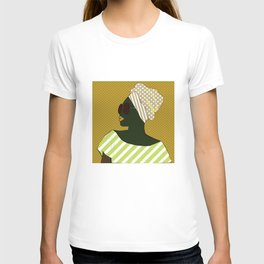 A black woman in sunglasses13 T-shirt