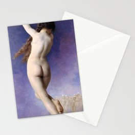 William-Adolphe Bouguereau - The Lost Star - Digital Remastered Edition Stationery Cards