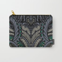 Polynesian Pattern Carry-All Pouch