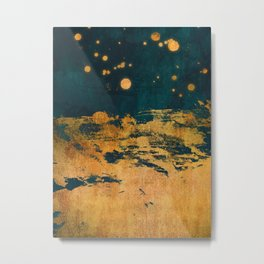 A Thousand Fireflies Metal Print