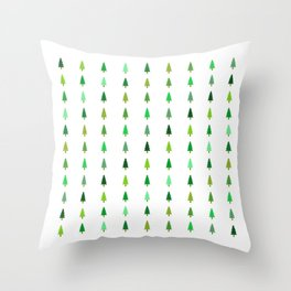 99 trees, none of them a problem Throw Pillow