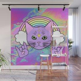 Hardcore Kitty Wall Mural