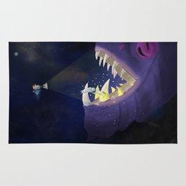 Nero Svenfor: Deep space Monster's dental care Rug