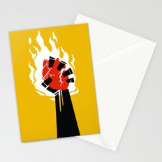 Indiana Jones and the Temple of Doom Minimal Movie Poster Stationery Cards