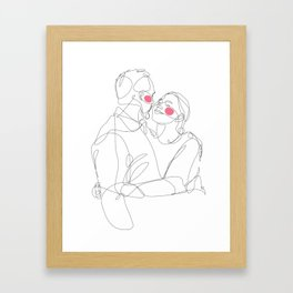 I + I = I Framed Art Print
