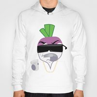 gucci Hoodies featuring Turnt Up the Turnip by Grime Lab