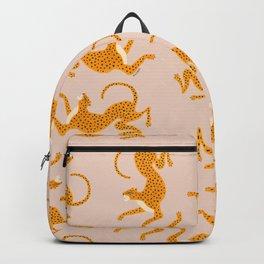 Leopard Race - pink Backpack
