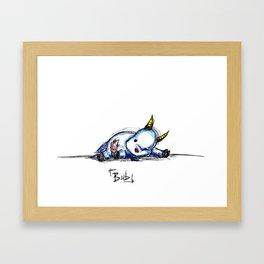 Bub 02 Framed Art Print