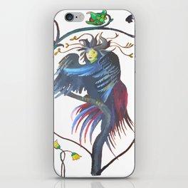Gamaun Halloween Prophetic Raven Vector iPhone Skin