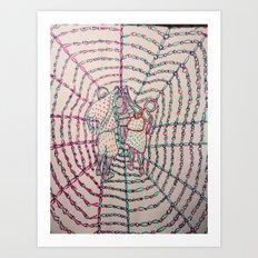 Let Our Love Flow 3 Art Print