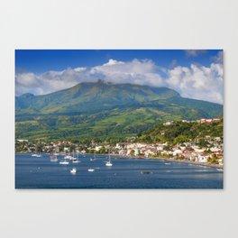 Saint Pierre, Martinique Canvas Print