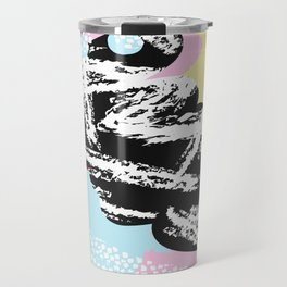 Collage Pattern 01 Travel Mug