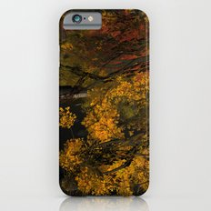 Autumn Leaves and Stream Slim Case iPhone 6s