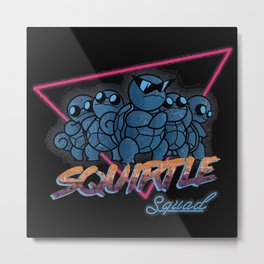 Awesome Squad Metal Print