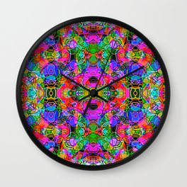 Abstract Kundalini Awakening Wall Clock