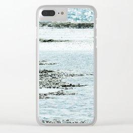 Sdot Yam beach Clear iPhone Case