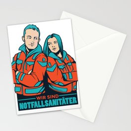Notfallsanitaeter Stationery Cards