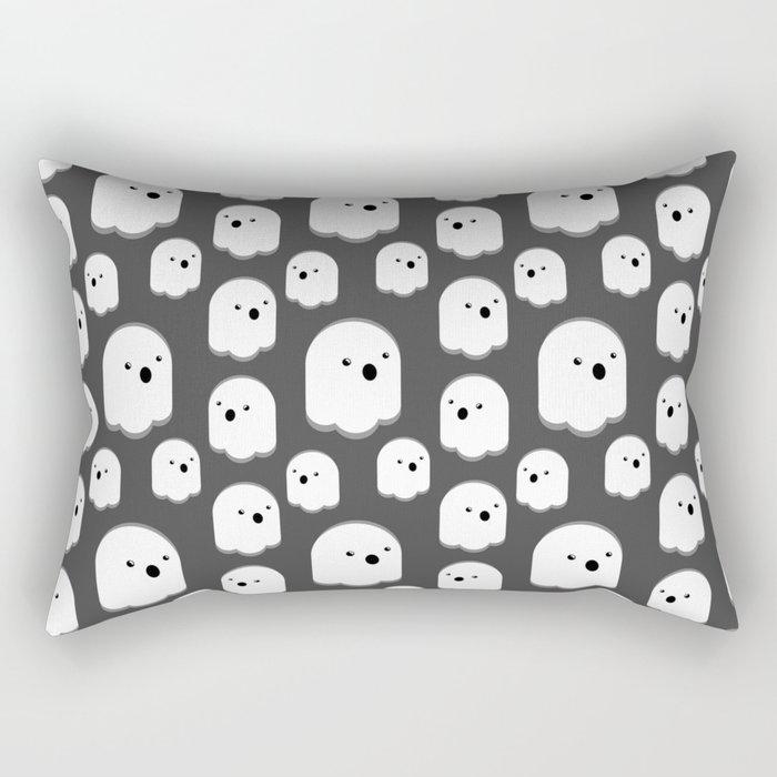 Ghosties! BooooooOOO! Rectangular Pillow