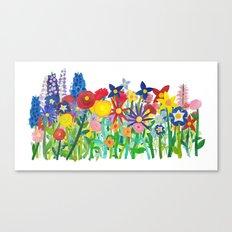 Flowery Bouquet Canvas Print