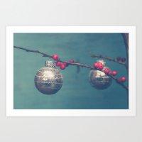 sparkle Art Prints featuring Sparkle by Olivia Joy StClaire