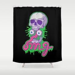 Awkward Shower Curtain