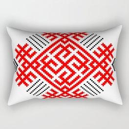 Rodimich - Antlers - Slavic Symbol #1 Rectangular Pillow