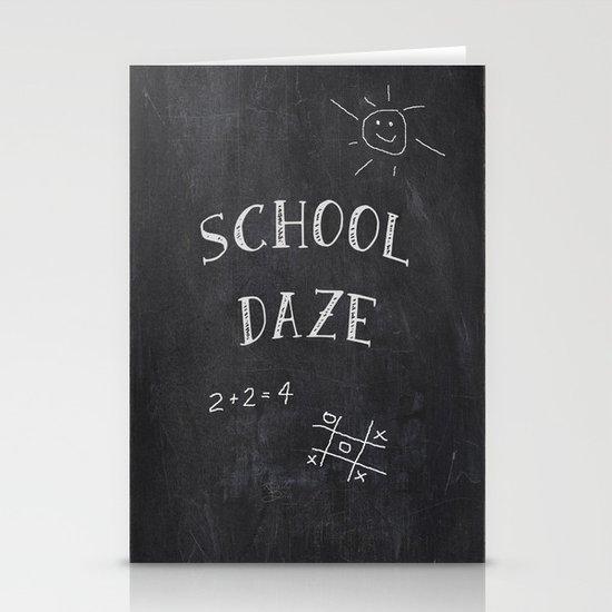 School Daze Stationery Cards