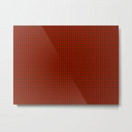Maxwell Tartan Metal Print