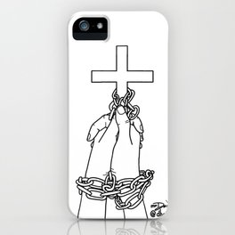 Free or Fear iPhone Case