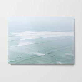 Tiny Surfers from the Sky 4, Lima, Peru Metal Print