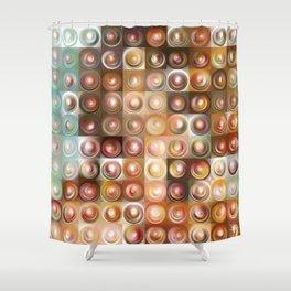 Botticelli Tea Lights Shower Curtain