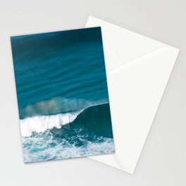 Abstract Ocean Wave with Rainbow formation in Mist Stationery Cards