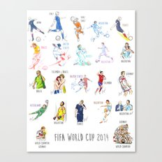 FIFA World Cup 2014 Moments! Canvas Print