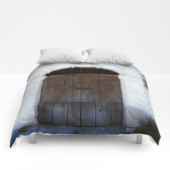 Old door II Comforters