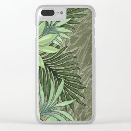 A Run Through the Jungle Clear iPhone Case