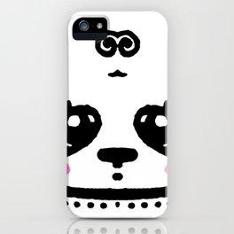 Panda Blush iPhone Case